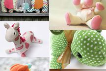 Simply Sewing...stuffed animals etc