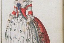XVIII century fashion plates