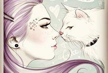 artwork i love♥ / by buckylou ...