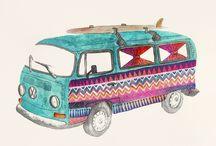 draw a vw van