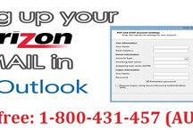 Contact 1-800-431-457 to Configure Verizon Email in Outlook
