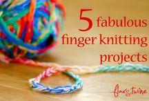 Arm/Finger Knitting