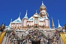 Christmas At Disneyland ~ My Fantasy Vacation / by Nancy Comee