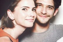 Shelley Hennig and Tyler Posey