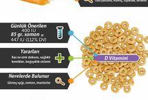Besinler ve faydaları
