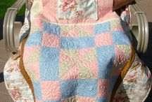 Lap quilts with pockets for elderly