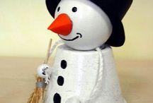 vánoční vyrábění / výrobky s vánočním tématem