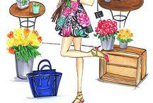 fashion doodle