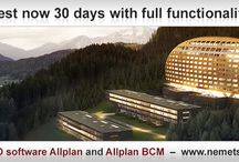 Test now 30 days with full functionality! / The current CAD software Allplan and Allplan BCM. Start your CAD / AVA download now: http://www.nemetschek-allplan.eu/services/cad-downloads/cad-download.html