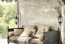 Outdoor Spaces / Beautiful outdoor spaces - terrace, patios and balconies with gorgeous decorating ideas