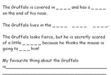 the Gruffalo and Gruffalo's Child