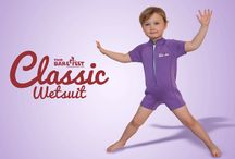 Kids Swimming / Baby Wetsuits / Adorable little outfits to keep kids safe in the water.