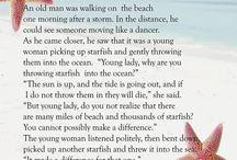 Quotes / Starfish