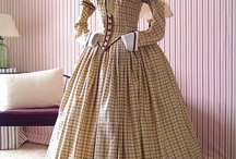 XIX-th century dresses