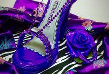 Sugar Shoes by Jewel / Cake Jewel / Beautiful Sugar Shoes made to compliment a Custom Cake