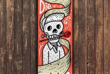 Rig on skateboard