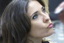 Maquillaje en Andressa Santana / Maquillajes realizados en el centro con nuestras clientas y amigas... ¡¡No sólo de keratina vive la mujer!! :)