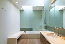 Our Work // Bathroom Design / Bathrooms we have designed.  New construction and remodels.