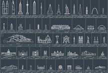 Arkitektur, kunst og kart