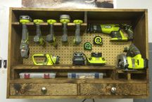 Power tools storage
