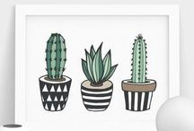 cactus painting ideas