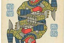 Mayan plaing cards