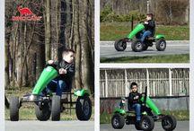 Let's ride! / Pedal Karts