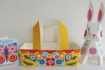Easter Paper Craft Set Tutorial