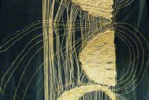 weaving and darning
