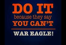 War Eagle / by Felisha Sparkman
