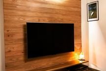 テレビ壁掛