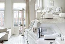Белая иллюзия / Белый цвет притягателен своей легкостью, чистотой и эффектностью.