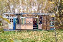 Дом, который построил Фрэнк / Америка, 40-50е гг