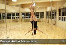 Pole fitness - Level 2-3-4 Intermediate