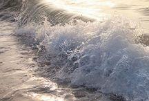 on the see/ en el mar