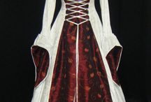 Renaissance wedding costume