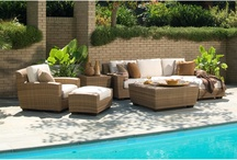 Outdoor Furniture / Wicker furniture, patio furniture, Chairs, loungers, sectionals, and everything we love to make your outdoor space into an extension of your home.