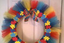 Autism Wreaths