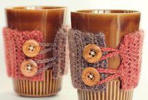 Free crochet cup cosie patterns