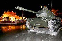 Geruchten over een coup in Thailand