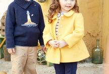 Baby close yellow
