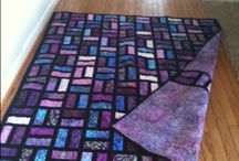 black background quilts