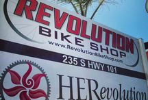 Revolution Bike Shop / Cool Stuff surrounding San Diego's #1 Rated Bike Shop