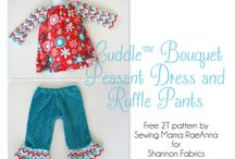 Sew Free: Child - Dresses/Tops / Free sewing tutorials and patterns for children's dresses and tops