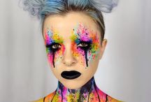 Crazy Make-up's (for halloween or carneval)