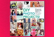 DIY Photo Projects / Photocraft-Ideen für dein Leben in Bildern!