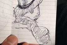 Quick sketches/snelle schetsen