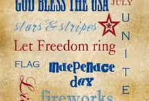July 4th Decore, Activities, and Crafts / by Charity Cole