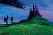 Disney Artist Peter Ellenshaw