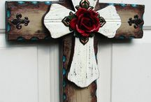 Wreaths and Crosses / by Vickie Emily
